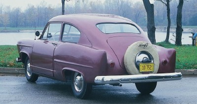 1952 Henry J Vagabond fastback coupe, a slightly upgraded version of a '51 Henry J model