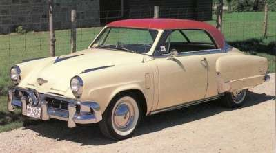 Even the addition of the hardtop 1952 Studebaker Starliner couldn't ensure the company's future.