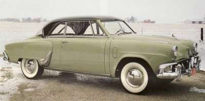 The hardtop 1952 Studebaker Starliner was the company's great success of the year.