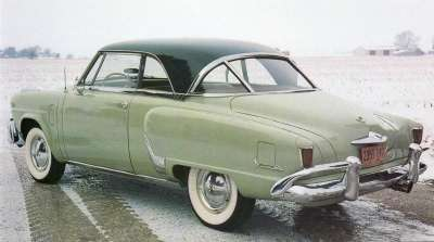 The 1952 models, like this Studebaker Starliner, needed record sales to stave off financial disaster.