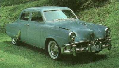 The 1952 Studebakers, like this Commander Land Cruiser, just couldn't compete with the Big Three.