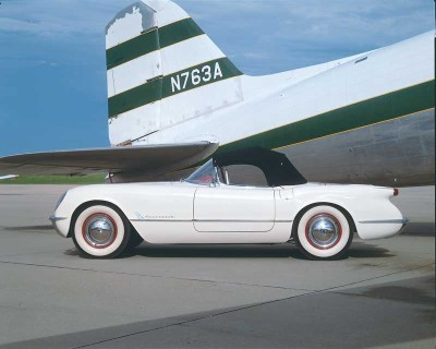 The 1953 Corvette could go from 0-60 mph in 11.0 seconds.