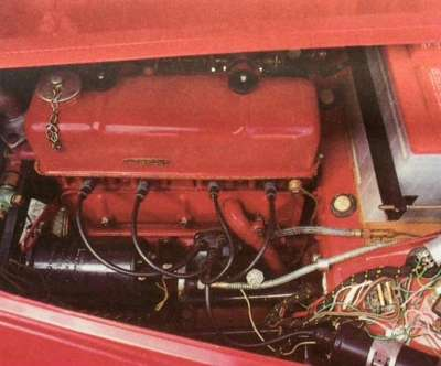 1955 MG TF 1500 engine