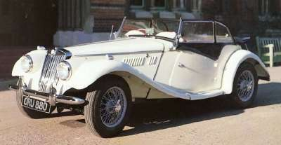 1954MG TF Roadster