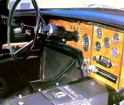 1956-1957 Facel Vega FVS dashboard.