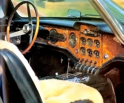 1962 Facel II interior cabin.