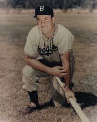 Duke Snider made his debut in the big leagues at age 20.