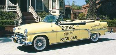 1954 Dodge Royal 500 Pace Car Replica Convertible, part of the 1950s Dodge Convertible line