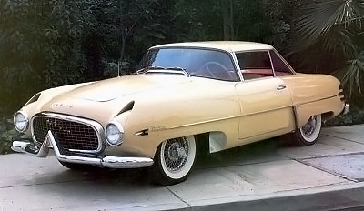 1954 hudson italia front view
