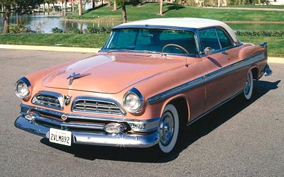 1955 Chrysler New Yorker Newport hardtop coupe, part of the 1955-1956 Chrysler New Yorker Hardtop & Convertible series.