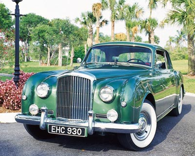 This 1957 Bentley S1 coupe was part of the 1955-65 Bentley S-Type series.