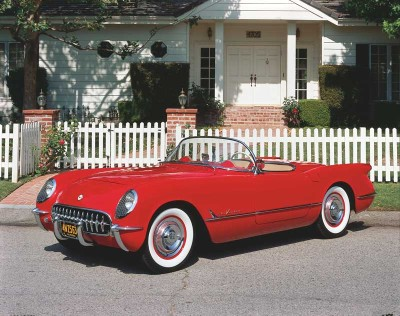 The 1955 Corvette offered a color option of Gypsy Red, which replaced the Sportsman's Red of previous models.