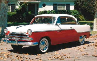 1955 Willys Bermuda hardtop coupe, part of the 1955 Willys Bermuda line of collectible cars.