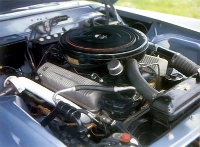 1957 lincoln continental mark ii engine
