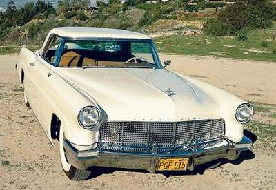 1956 Lincoln Premiere hardtop coupe, part of the 1956-1957 Lincoln Continental Mark II line of collectible cars