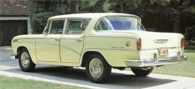 Rambler's 1956 lineup consisted solely of four-door models.