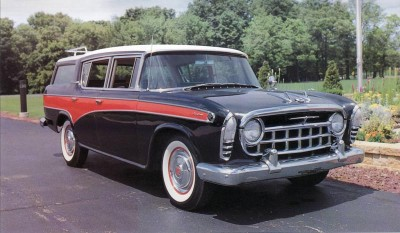 The 1957 Rambler had the majority of its changes under the hood.