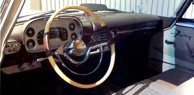 1957 plymouth fury interior