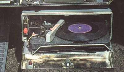 The Hi-Way Hi-Fi, an under-dash record player, was featured in some 1957 DeSoto Adventurers.