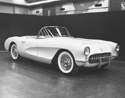 The 1956 Corvette improved performance dramatically, with 0-60 in as little as 7.5 seconds.
