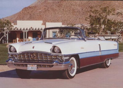 The 1956 Packard Caribbean was the last