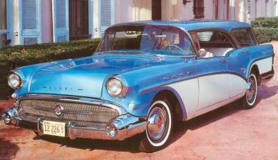 A complete restyle and new models like the Century Caballero hardtop station wagon were lavished on the 1957 Buick line.