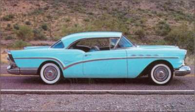 The series' best power-to-weight ratio belonged to the 1957 Buick Riviera hardtop.