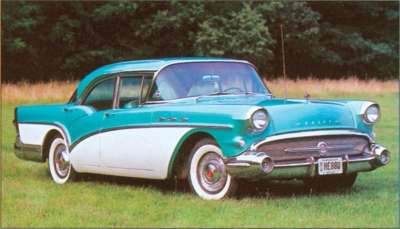 Nearly 60,000 customers took home a 1957 Buick Special four-door sedan.