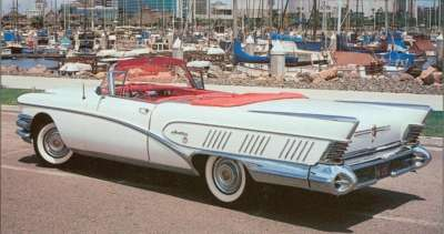 The new, top-of-the-line Buick Limited series debuted in 1958.