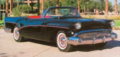 Top-line 1957 Buick Roadmasters like the $4,066 convertible had four