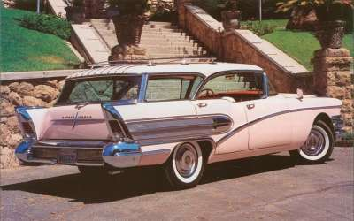 Hardtop station wagons like the Century Caballero made their last stand at Buick in 1958.