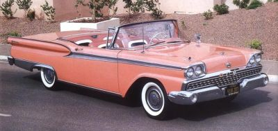 1959 Ford Fairlane 500 Skyliner full view