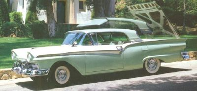 Ford Fairlane 500 Skyliner retractable view