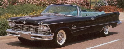 1957 Imperial Crown ragtop convertible
