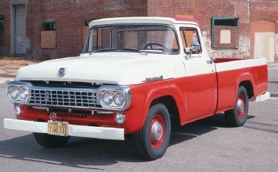1958 Styleside Ford F-Series pickup truck