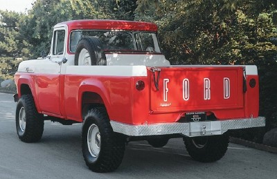 1959 Ford F-Series pickup truck