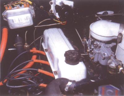 1962 Vauxhall Victor engine view