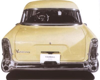 Vauxhall Victor rear view