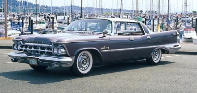 The 1959 Imperial LeBaron Southampton hardtop sedan, part of the 1957-1959 Imperial LeBaron series.