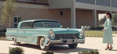 1958 Lincoln Premiere hardtop sedan, part of the 1958-1960 Lincoln Premiere line of collectible cars
