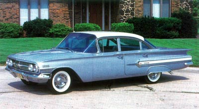 The least costly 1960 Impala was the family-friendly $2,697 four-door sedan.