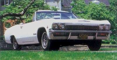 At $3,212 to start, a V-8 Impala SS convertible was the priciest car to wear the Impala badge.