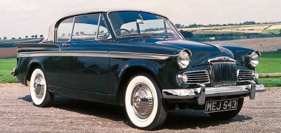 1961 Sunbeam Rapier Series III hardtop coupe, part of the 1958-1967 Sunbeam Rapier line of collectible cars.