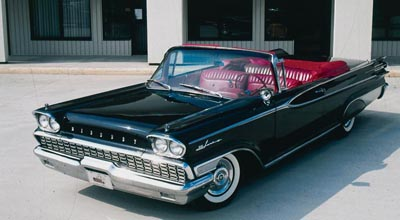 1959 Mercury Park Lane convertible of the 1959-1960 Park Lanes