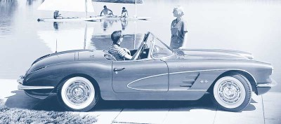 The 1960 Corvette broke model-year sales records with 10,261 units.