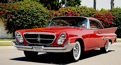 1961 Chrysler 300-G hardtop front view
