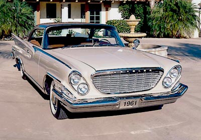 1961 Chrysler New Yorker hardtop coupe, part of the 1960-1962 Chrysler New York Hardtops & Convertible series.