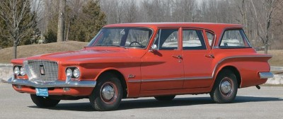 The 1960 Plymouth Valiant was a small car, but designed to comfortably seat six passengers.