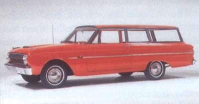 1963 Ford Falcon Deluxe two-door wagon