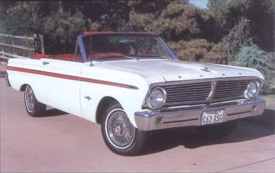 1965 Ford Falcon Sprint convertible